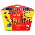 GIOTTO be-be Super Large Pencils (ดินสอสีไม้แท่งจัมโบ้) 12 สี - GIOTTO be-be Super Large Pencils 12 pcs.