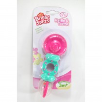 Pink Rattle and Teether-อมยิ้มสีชมพู