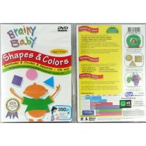 "DVD BRAINY BABY ""Shape&Colors"""