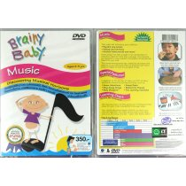 "DVD BRAINY BABY ""Music"""