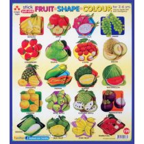 Stick Fruit Shape Colour