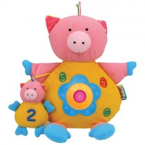 Baby Lovers (Light and Sound) Activity Toys, ลาย: หมู