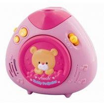 Lullaby Teddy Projector, สี: ชมพู