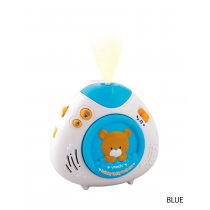 Lullaby Teddy Projector, สี: ฟ้า