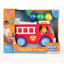 Having a Ball Roll & Pop Fire Truck