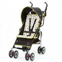 S130 lanlte Stroller - Abstract O's Black & Green
