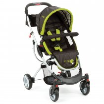 S430 lndigo Stroller - Abstract O'Black & Green