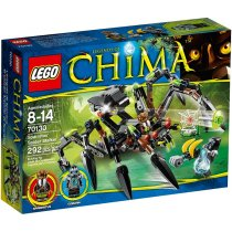 Legends Of Chima : Sparratus' Spider Stalker 70130