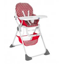 Pocket Lunch Highchair-Red Wave, สีRed wave