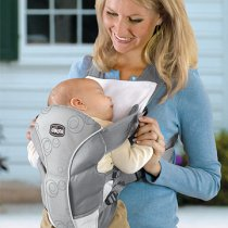 เป้อุ้ม Chicco Ultra Soft Baby Carrier, สีBlack