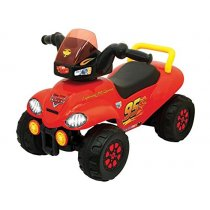 Disney Pixar Cars Steerable ATV Ride-On