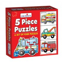 Creative Educational Aids 0770 Puzzles (5 Piece)