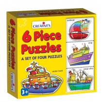 Creative Educational Aids 0771 Puzzle (6 Piece)