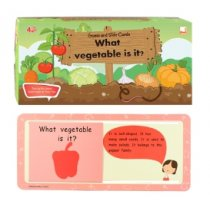 ชุด Slide Cards: What vegetable is it ?