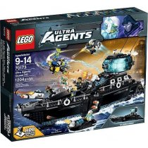 Lego Agent:Ultra Agents Ocean HQ(70173)