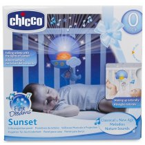 Chicco Toys Sunset Cot Panel, สีฟ้า