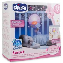 Chicco Toys Sunset Cot Panel, สีชมพู