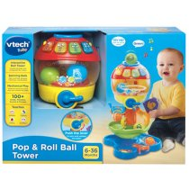 Pop & Roll Ball Tower