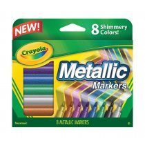 8 Count Metallic Markers