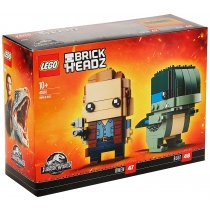 LEGO Brick Headz Owen & Blue 41614