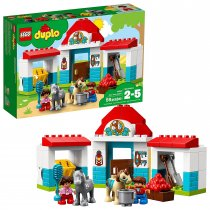 Lego Duplo Farm Pony Stable(10868)