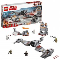 The Last Jedi Defense of Crait 75202
