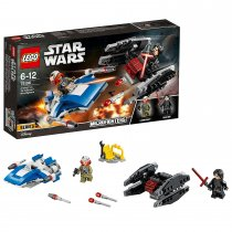 A-Wing vs. TIE Silencer Microfighters, Spielzeug 75196