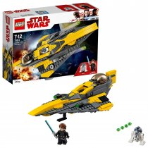 Lego Star Wars Anakin's Jedi Starfighter(75214)