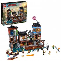 THE LEGO NINJAGO MOVIE NINJAGO City Docks 70657