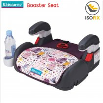 Kidstar Booster Seat with Isofix, สี: ม่วง