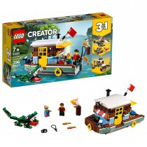 LEGO Creator 3in1 Riverside Houseboat 31093