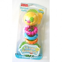 Ocean Wonders Dumbell Rattle, ลายปลา