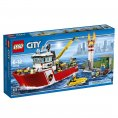 Lego City : Fire Boat #60109 - Lego City : Fire Boat# 60109