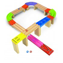 Racing Marble Track
