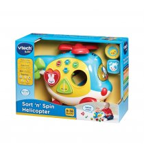 VTech Baby Sort 'n Spin Helicopter